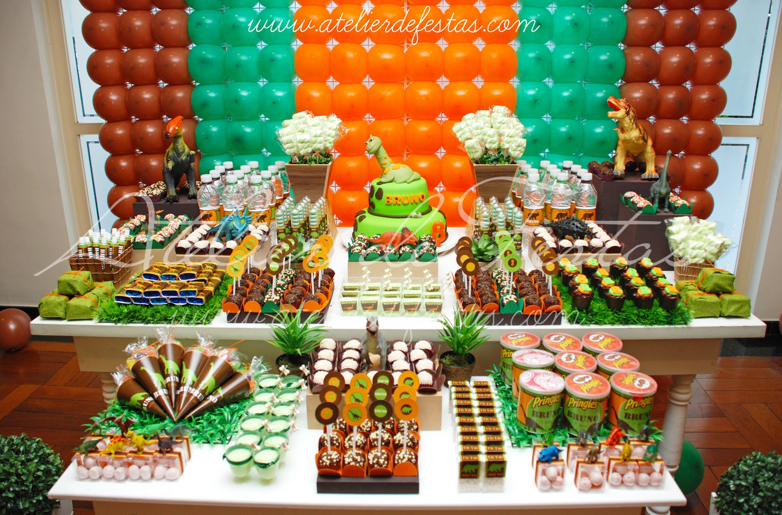 K Festa Personalizada Idéias Festa Dinossauros