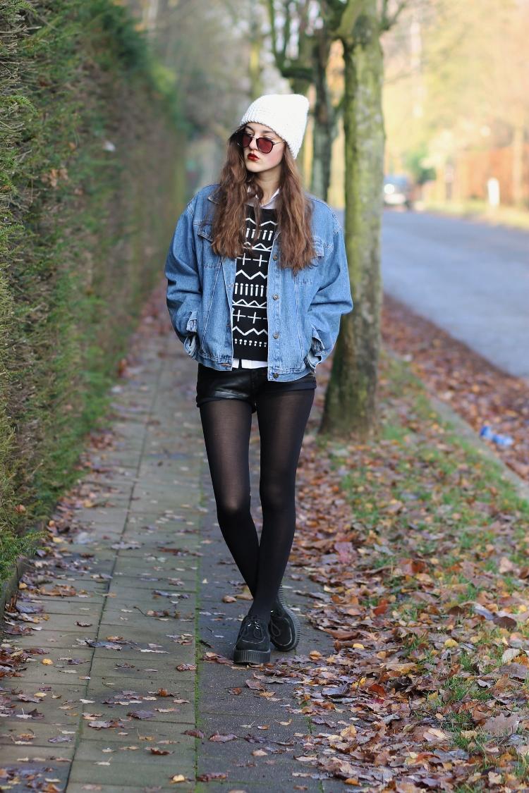 Phối đồ với áo khoác Jeans trẻ trung năng động - Ảnh 15