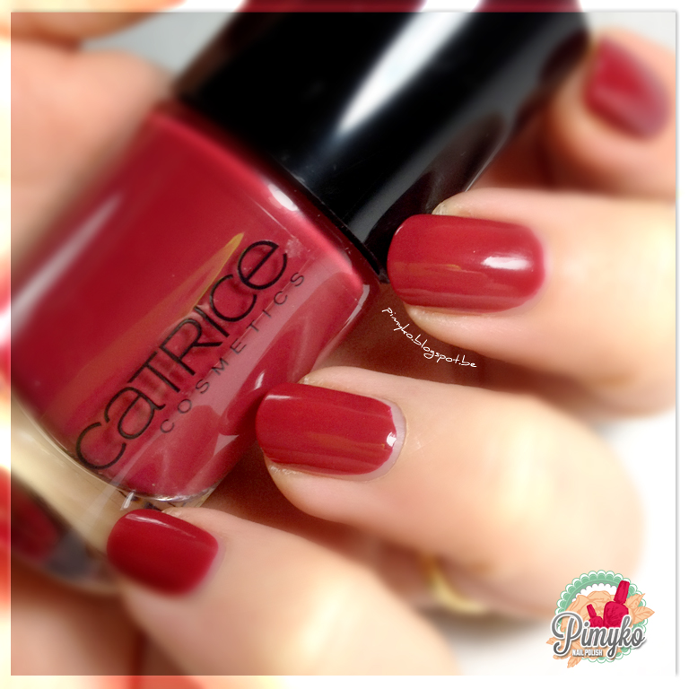 "pimyko swatch ""Robert's Red Ford"" by Catrice"
