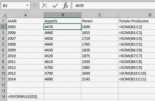 Citaten Weergeven Excel : Tips voor excel formules weergeven