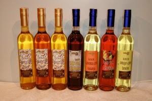 Botellas de saladín licores