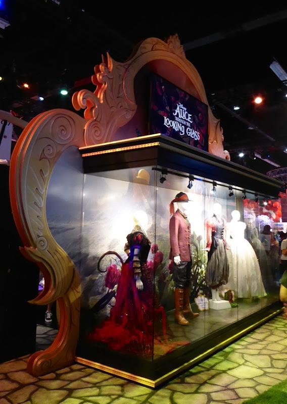 Disney Alice Through the Looking Glass costume exhibit