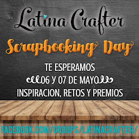 Latina Crafter Scrapbooking Day