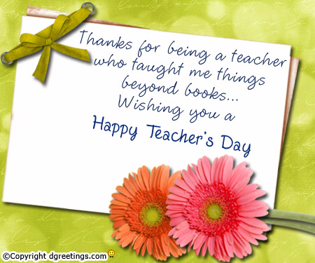 for me: Teacher's day quotes in India 2012