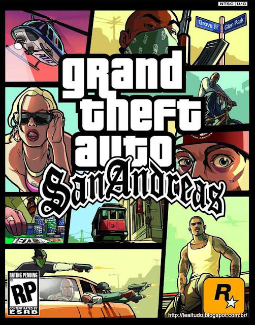 GTA SAN ANDREAS - GRAND THEFT AUTO SAN ANDREAS - PC - ANDROID - IOS - PS2 - XBOX 360 - PS3