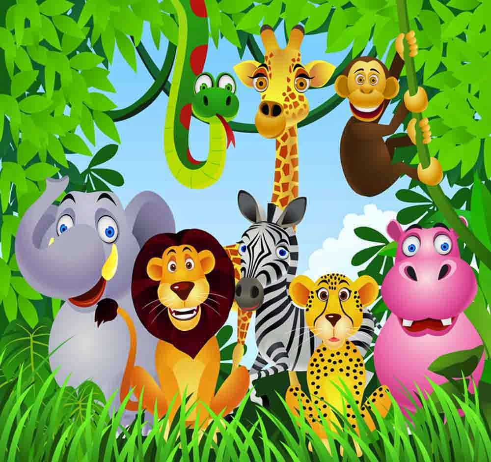 مدونة كتب التعليم الابتدائي كراس الحيوانات للتلوين