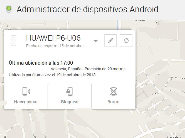 Ya podemos bloquear nuestro Android perdido