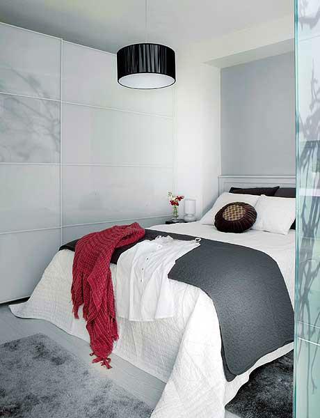 Habitaciones de color gris   mejorar el estado de animo ...