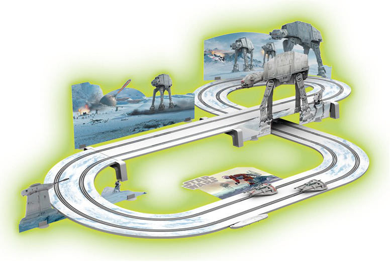 Jedi Mouseketeer Star Wars Scalextric Adds Battle Of Hoth
