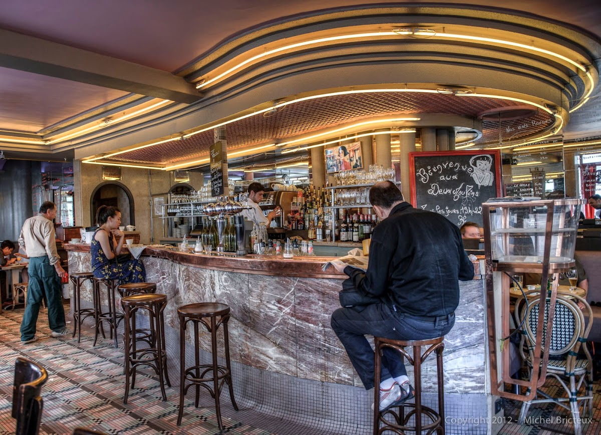 Café des 2 Moulins, Montmartre