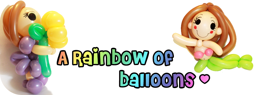 A Rainbow of Balloons