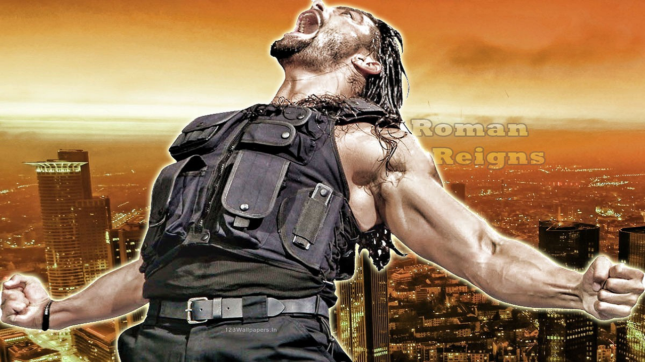 High Definition Quality Wallpapers of Power House Roman Reigns ...