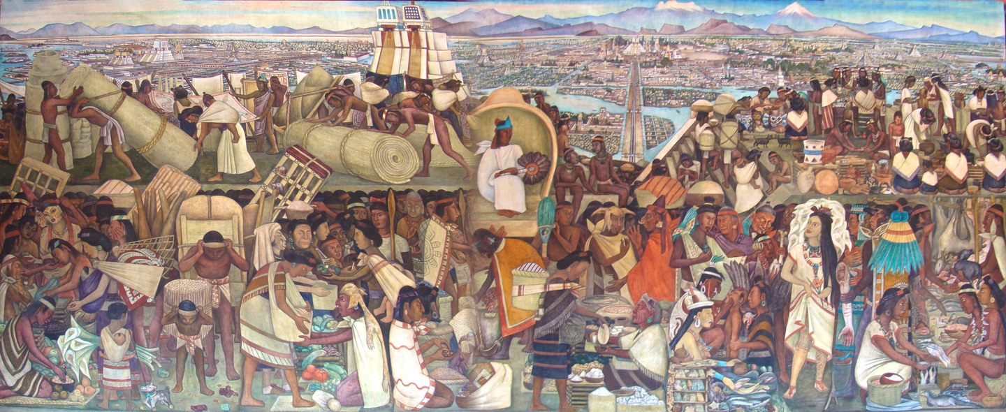 Imperia azt que for Diego rivera tenochtitlan mural