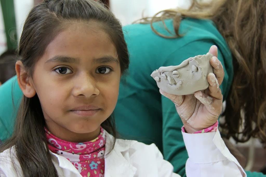 Cerámica precolombina en escuelas rurales.
