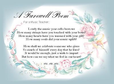 goodbye friend: