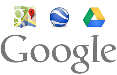 google earth, maps and google drive update