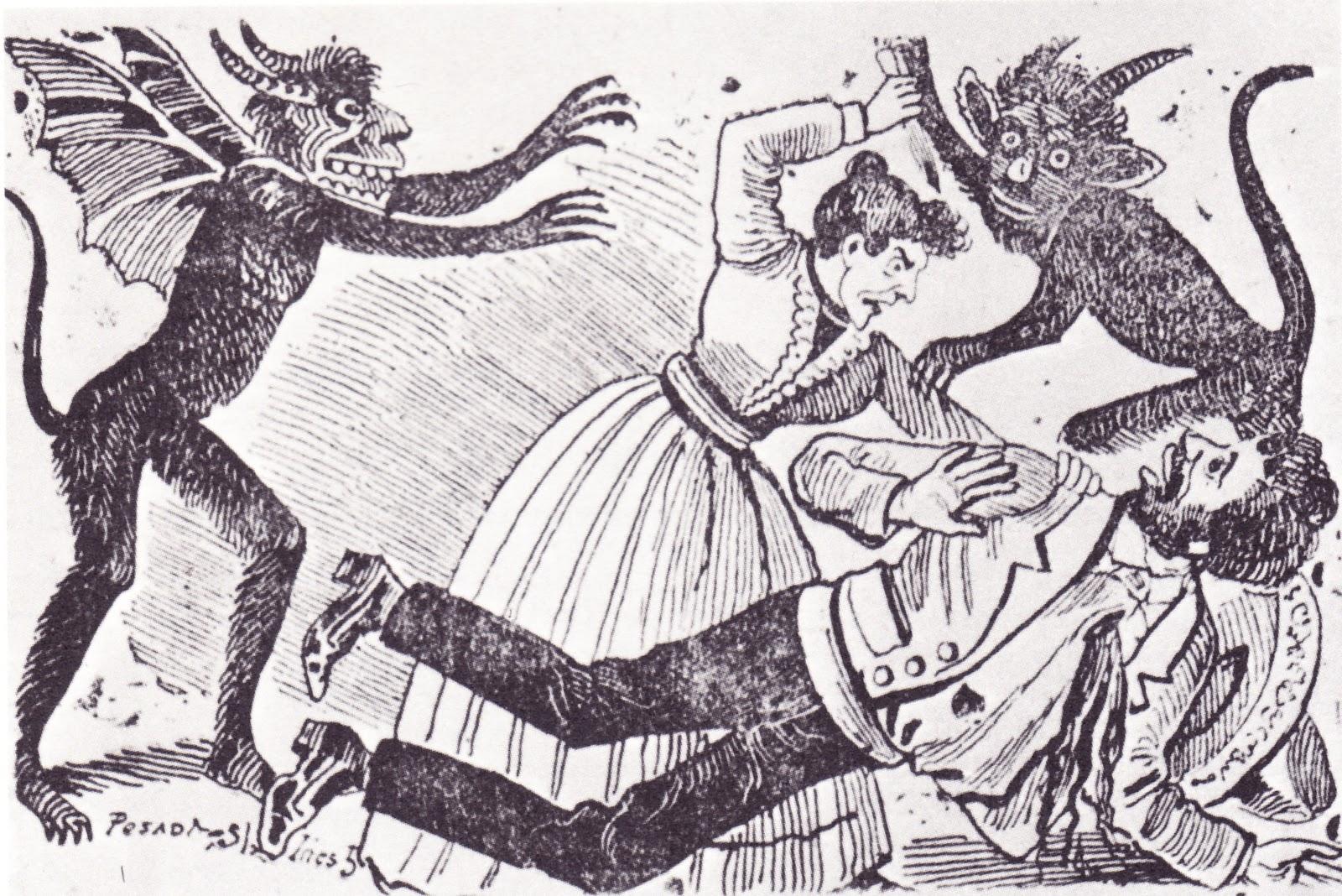 Santa Muerte Drawings