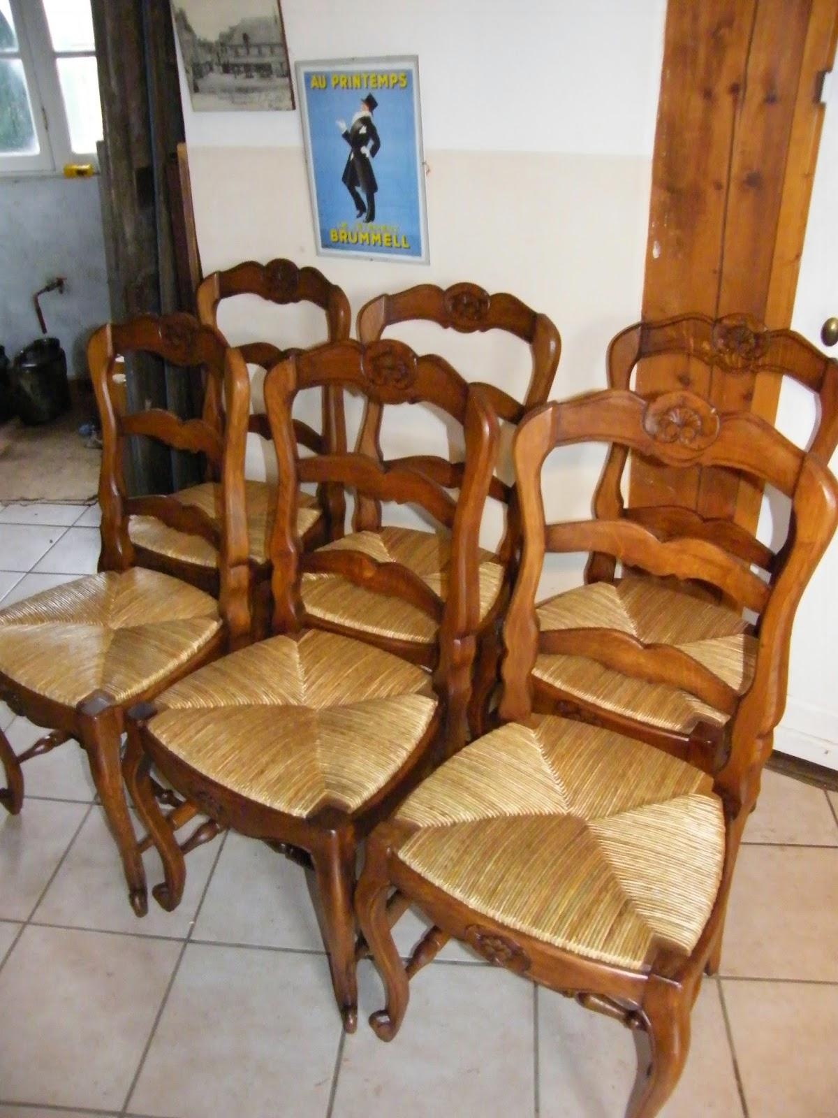 normandie cannage chaises paill es de salle manger sur nonancourt. Black Bedroom Furniture Sets. Home Design Ideas