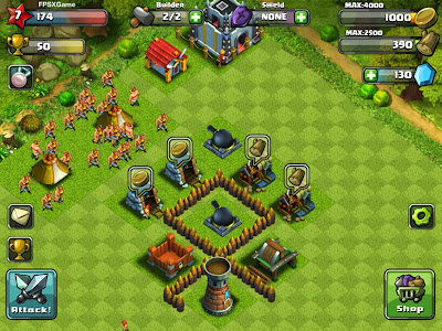 FPSXGames Amazing Clan Wars IOS Game