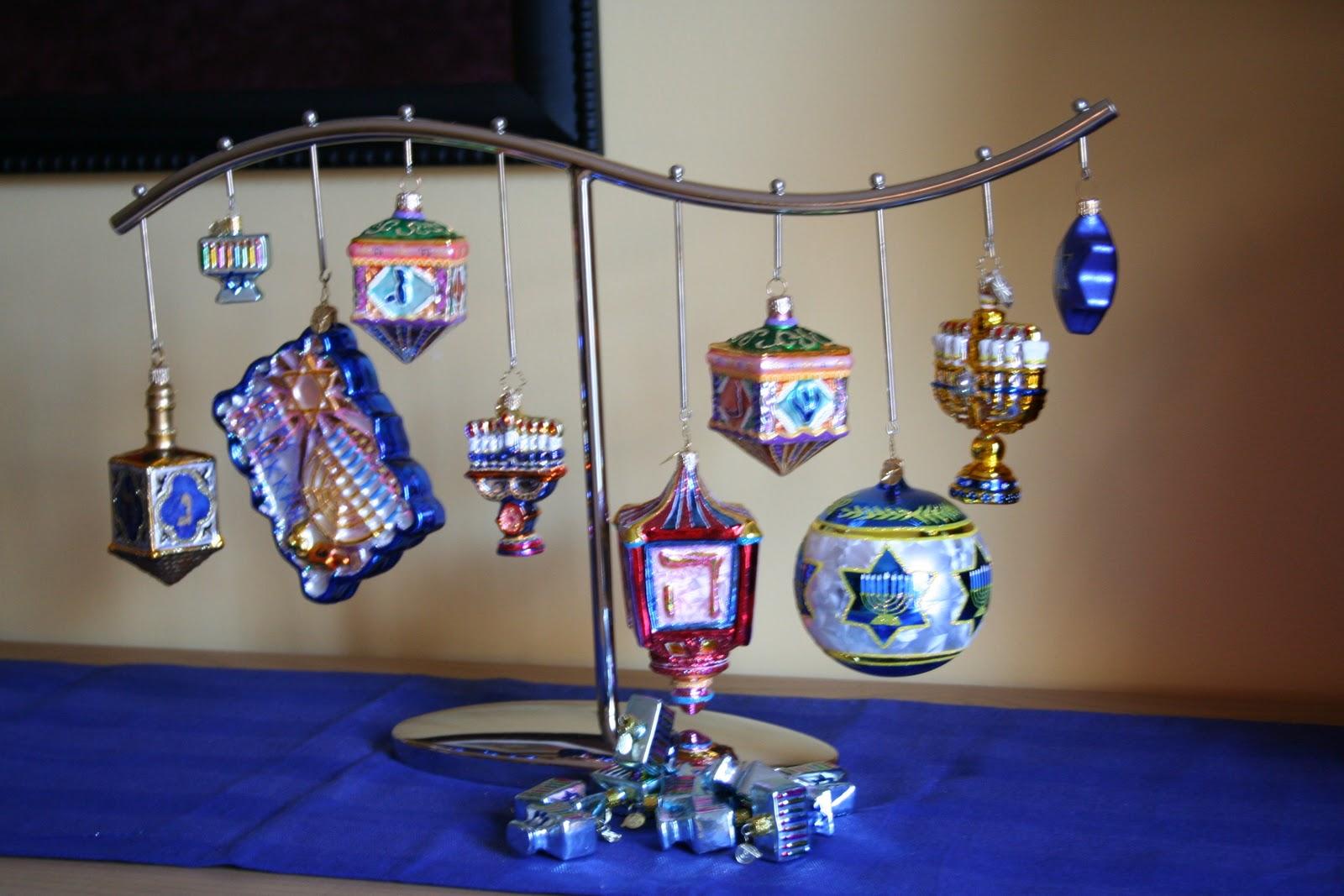 advent calendar hanukkah ornaments - Hanukkah Decorations