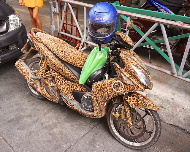 Scooter à Bangkok