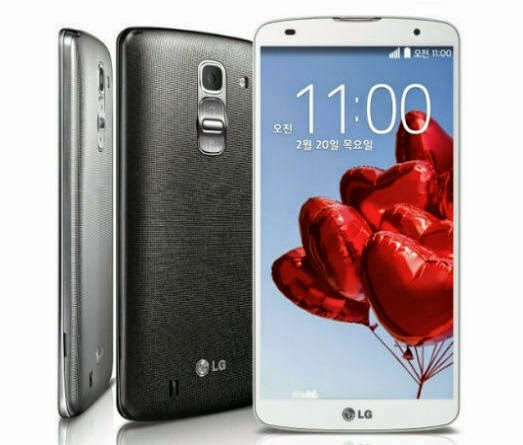 LG G Pro 2 Android Phone with Good Battery