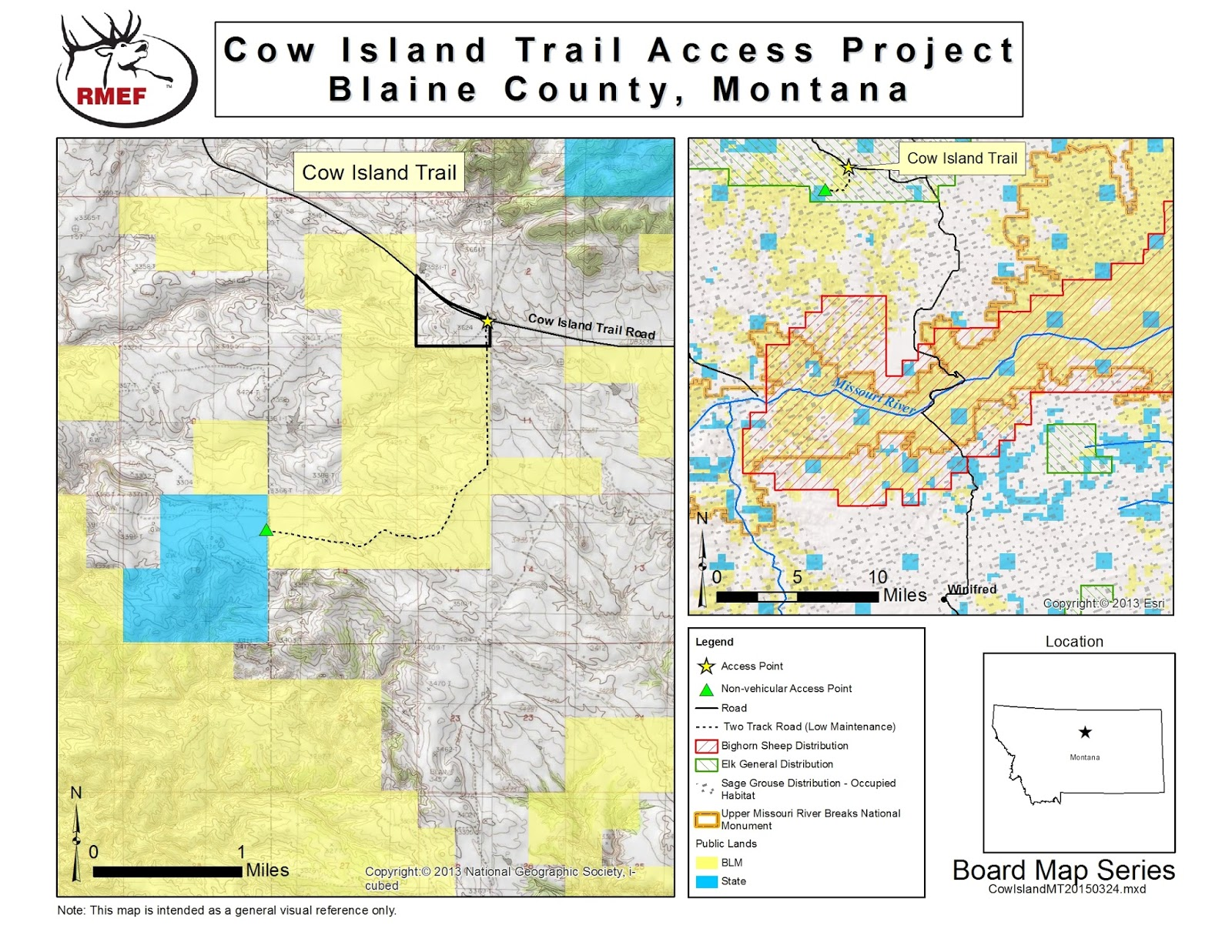 Public land map montana for Fish wildlife and parks