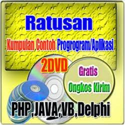 DVD Contoh Program/Aplikasi