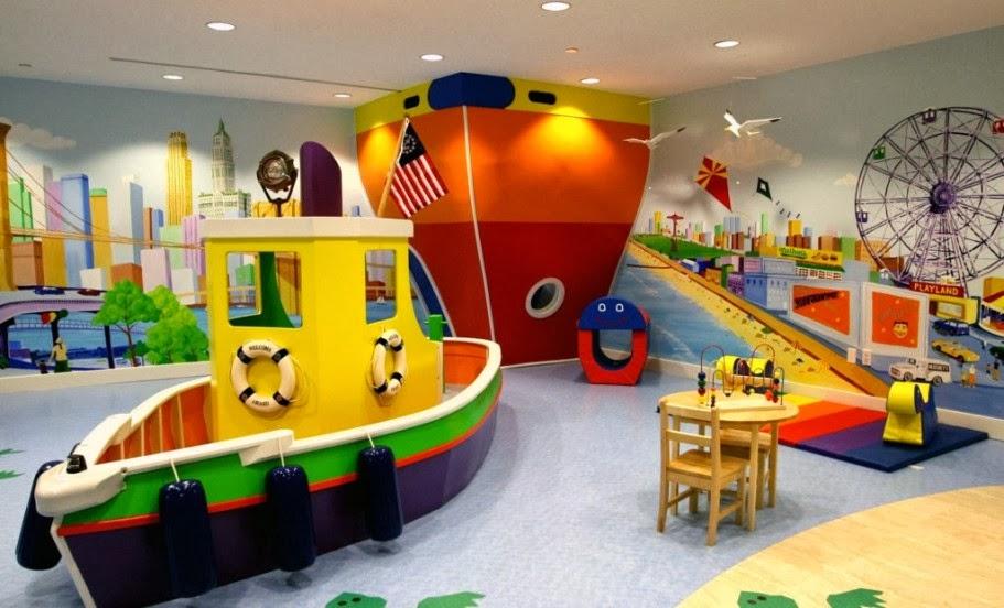Decoracion y Tendencias Ideas de una Hermosa sala de Juegos para nios