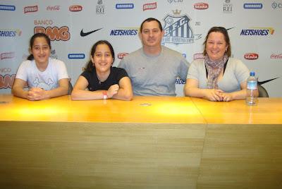 Sala de imprensa da Vila Belmiro - Santos - SP