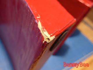 réparation meuble en carton