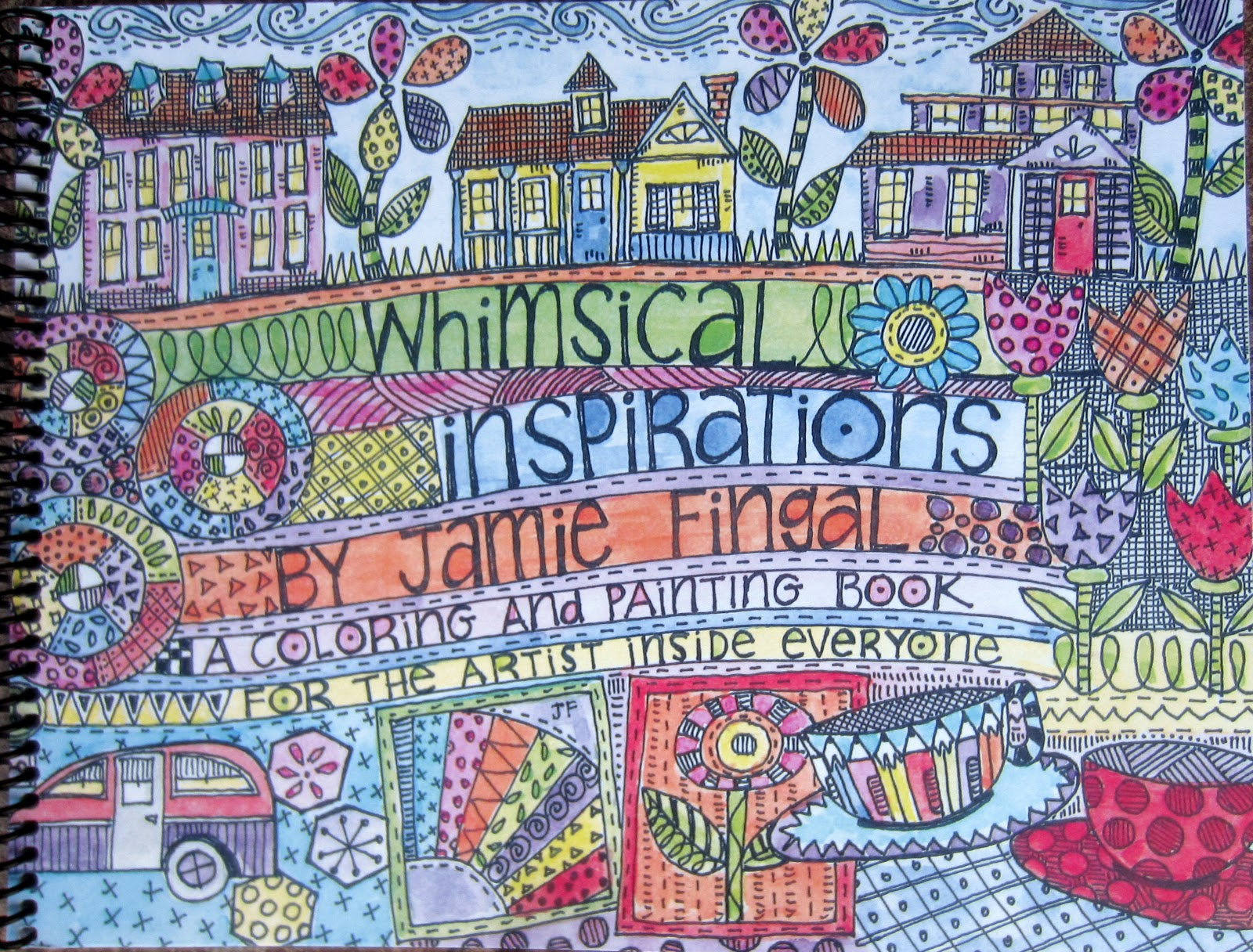 I Am So Excited To Share My New Book Whimsical Inspirations Coloring And Painting For The Artist Inside Everyone Target Audience
