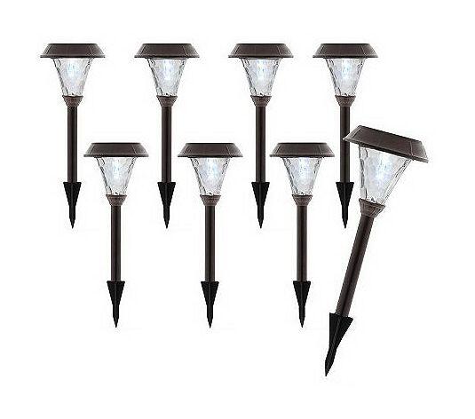 Garden Lights Qvc : Ryan homes palmetto grove qvc special on solar lights