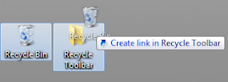 Recycle Bin On Taskbar
