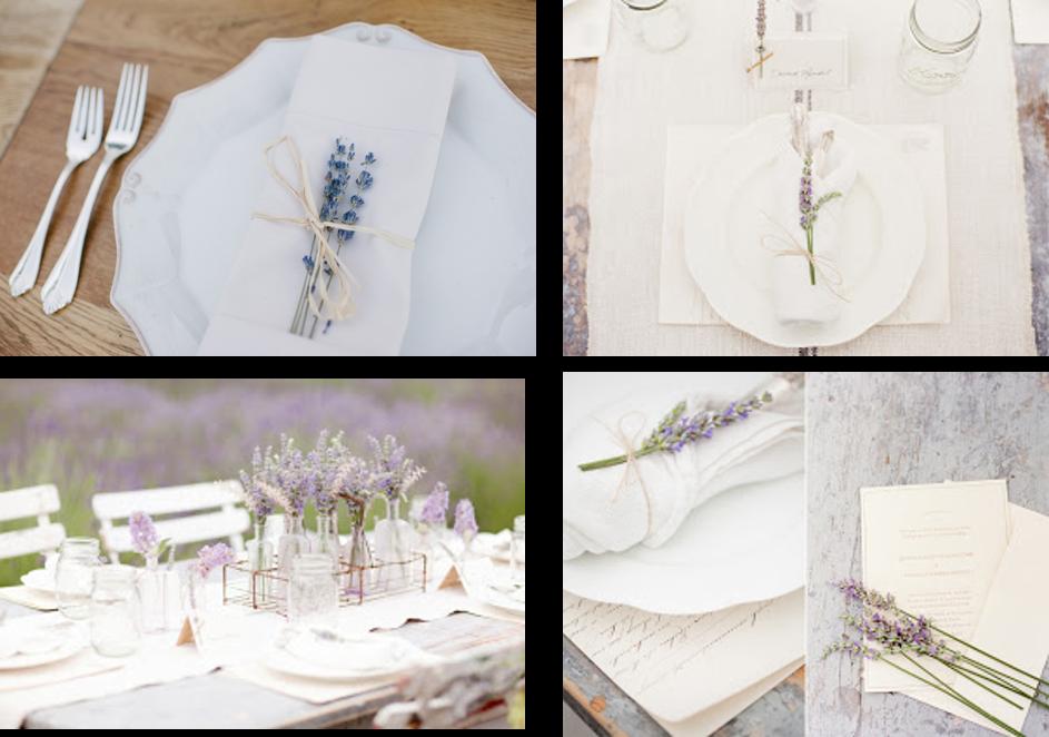 Ideas para decorar tu boda con plantas aromáticas