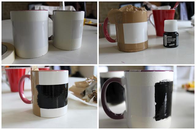 mandy bla bla customiser des tasses avec de la peinture ardoise diy. Black Bedroom Furniture Sets. Home Design Ideas