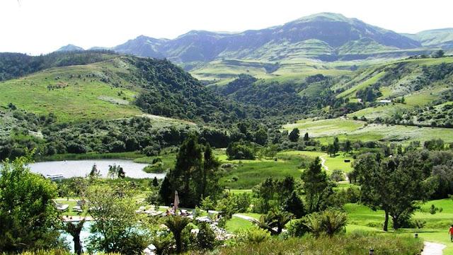 Drakensberg in South Africa