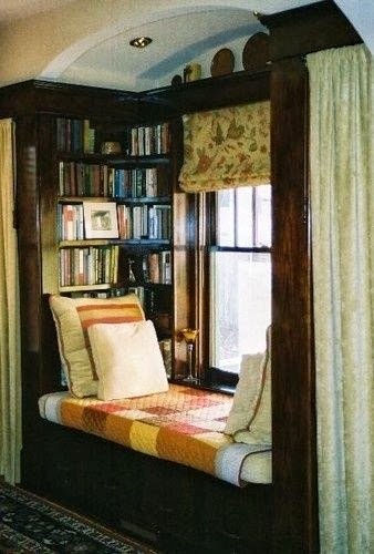 20 inspiring reading nooks design ideas the grey home Window seat reading nook