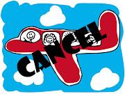 原本打算回家乡的班机也被取消了,所以只好继续呆在西马. (airplane cartoon af ac)