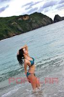 Foto Nheyla Putri di Majalah Popular