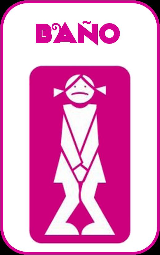Imagenes De Baño Mujeres:QUÉ HACEMOS HOY EN EL COLE?: CARTELES PARA EL BAÑO