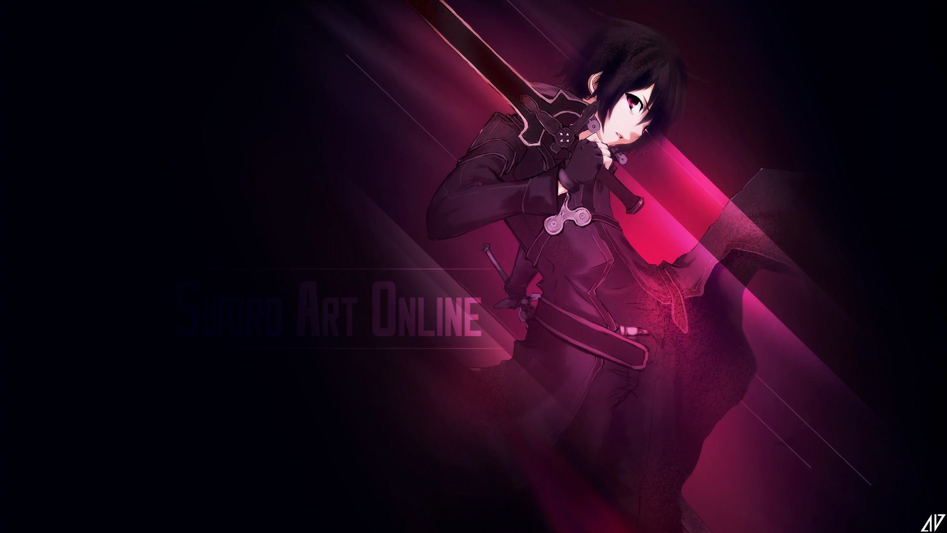 Sword Art Online Wallpaper By Greev On DeviantArt Kirito Anime Picture 0l HD