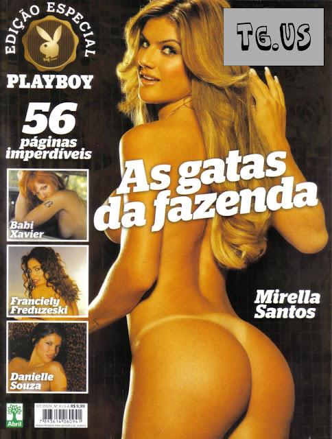 Confira as fotos das Garotas da Fazenda, Mirella Santos, Babi Xavier, Franciely Freduzeski e Danielle souza, Capa da playboy Especial de julho de 2009!