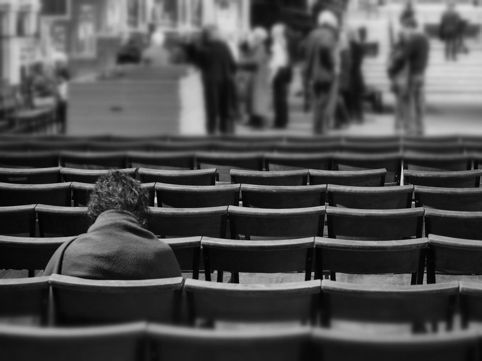Quiet Moment #quietmoment #NYC #StJohntheDivineCathedral #NYC ©2014 Nancy Lundebjerg