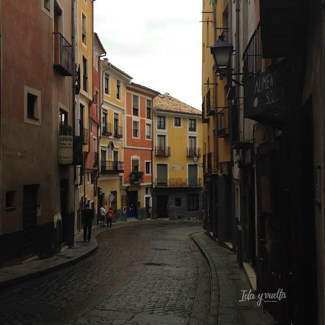 Calle Alfonso VIII de Cuenca