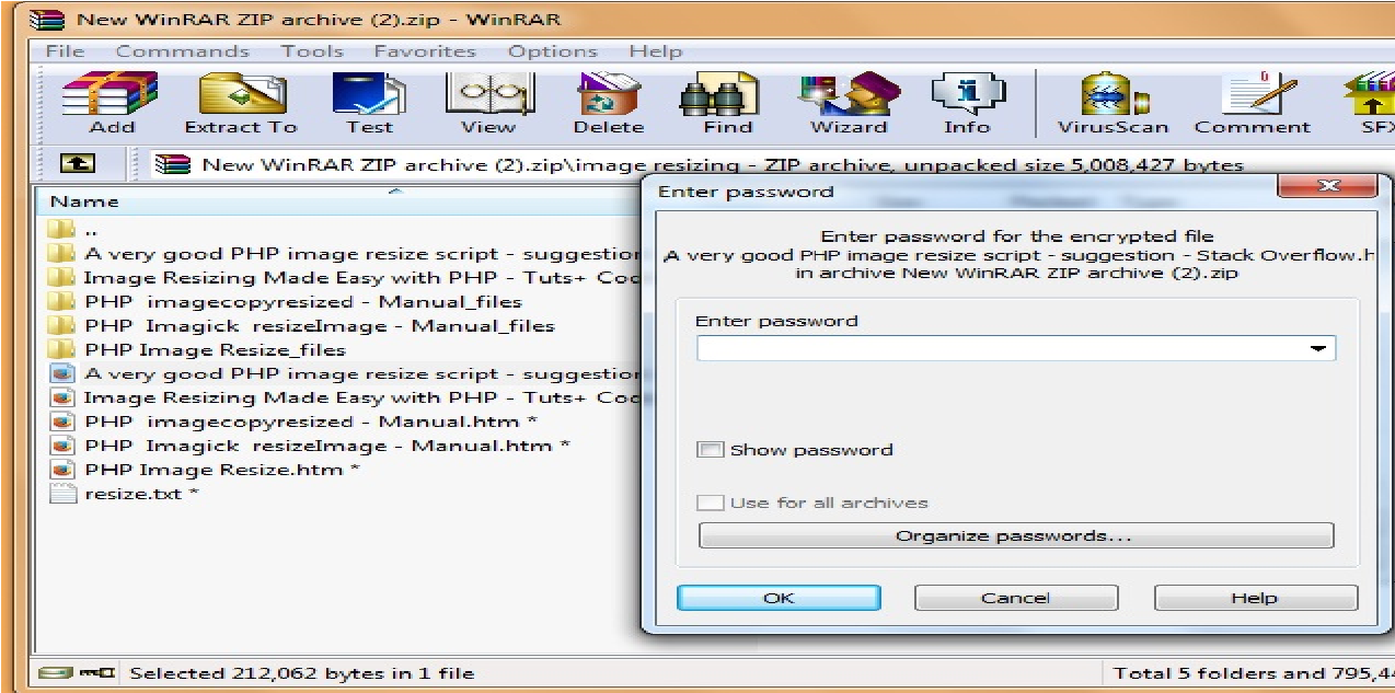 How To Add Password To Files