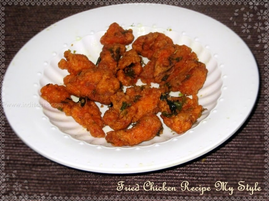 Fried Chicken Recipe My Style