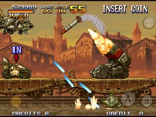 Screenshot Metal Slug X PS 1 ISO For PC