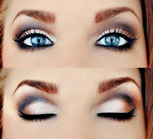 Vidéo maquillage : quel maquillage pour les yeux bleus ?  vidéo Dailymotion