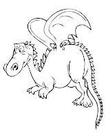 Dragon Coloring Pages